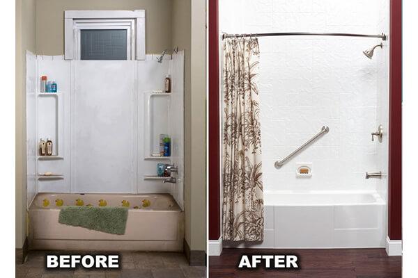 Bathroom Remodel Bathtub Remodeling Bathwraps - Bath wraps bathroom remodeling